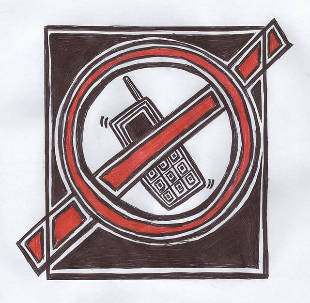 Cell Phones Banned in Public Places
